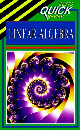 9780822053316: Linear Algebra (Cliffs Quick Review)