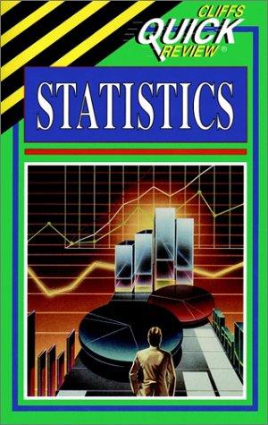 9780822053491: Statistics: Cliffs Quick Review