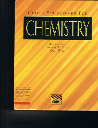 Chemistry MAC Cliffs Studyware: Cliffs Notes