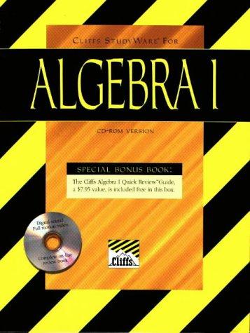 9780822056256: Cliffs StudyWare for Algebra: Windows/Macintosh v. 1