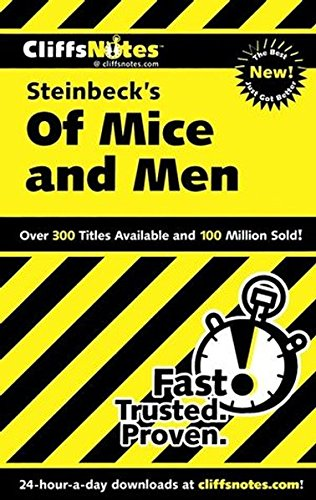9780822071495: Of Mice and Men: Cliffs Notes