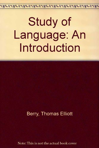 9780822100157: Study of Language: An Introduction