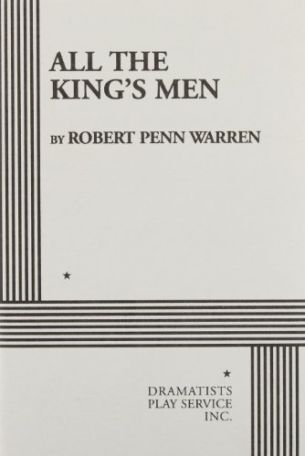 9780822200185: All the King's Men (Warren) - Acting Edition