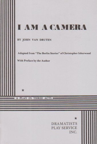 9780822205456: I Am a Camera