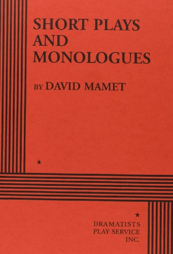 9780822207207: Short Plays and Monologues.
