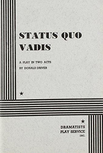9780822210764: Status Quo Vadis.