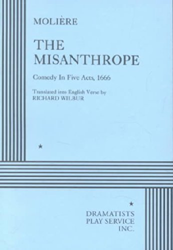 9780822213895: The Misanthrope.
