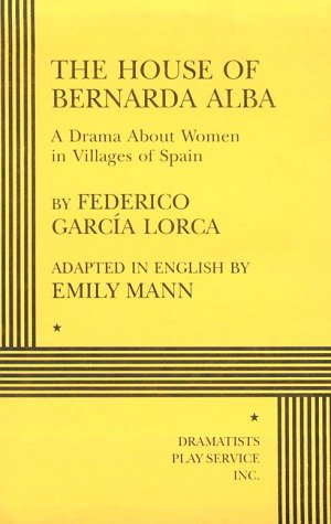 9780822216537: The House of Bernarda Alba - Acting Edition