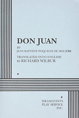 9780822216575: Don Juan, Acting Edition