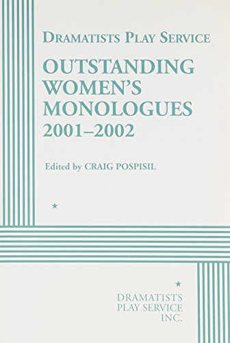 9780822218227: Outstanding Women's Monologues Volume One - Acting Edition (Acting Edition for Theater Productions)