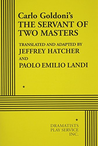 9780822218470: The Servant of Two Masters - Acting Edition