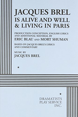 9780822219057: Jacques Brel Is Alive and Well & Living in Paris
