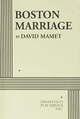 9780822219446: Boston Marriage