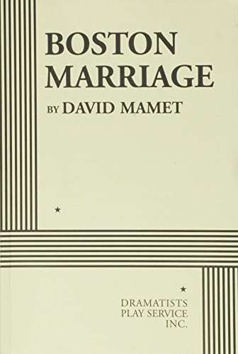 9780822219446: Boston Marriage - Acting Edition