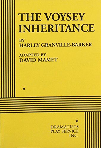 9780822221289: The Voysey Inheritance - Acting Edition
