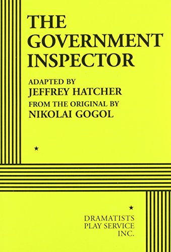 9780822223375: The Government Inspector (Hatcher) - Acting Edition