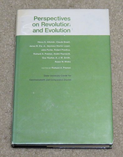 9780822304258: Perspectives on revolution and evolution (Publication - Duke University Center for Commonwealth and Comparative Studies ; no. 46)