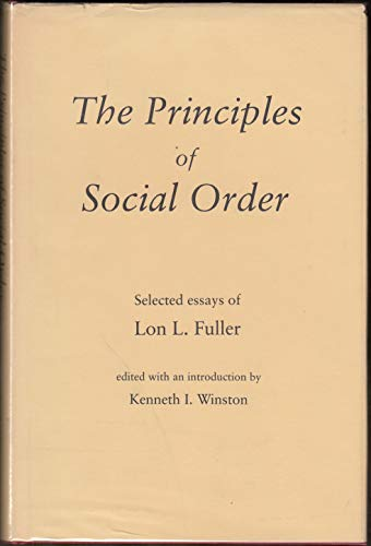 9780822304487: Principles of Social Order: Selected Essays