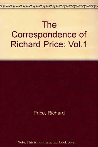 9780822304524: The Correspondence of Richard Price, Vol. 1