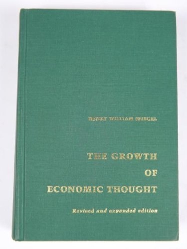 9780822305507: Growth of Economic Thought