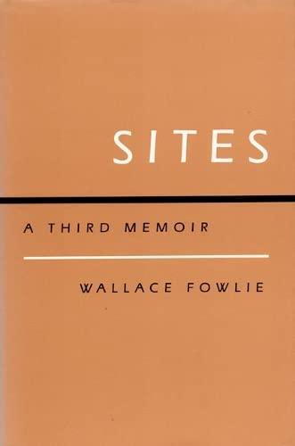 9780822307006: Sites: A Third Memoir