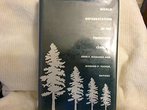 9780822307846: World Deforestation in the Twentieth Century (Duke Press Policy Studies)