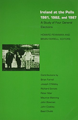 9780822307860: Ireland at the Polls, 1981, 1982, and 1987: A Study of Four General Elections