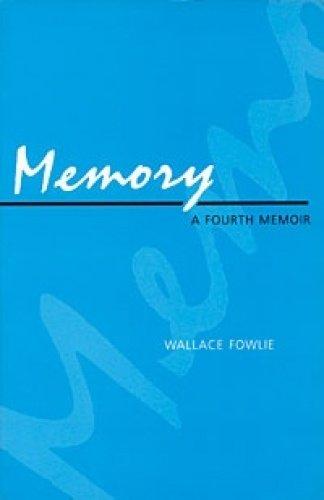 9780822310037: Memory: A Fourth Memoir