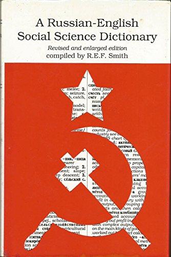 9780822310884: A Russian-English Social Science Dictionary, Rev. ed.