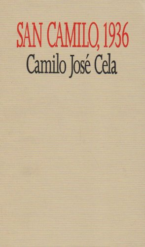 9780822311799: San Camilo, 1936: The Eve, Feast, and Octave of St. Camillus of the Year 1936 in Madrid