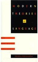 9780822312789: Modern Theories of Language: The Empirical Challenge (Sound and Meaning: The Roman Jakobson Series in Linguistics and Poetics)