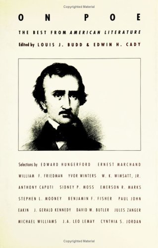 9780822313113: On Poe: The Best from American Literature
