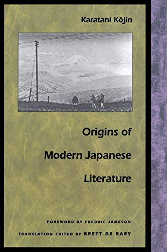 9780822313236: Origins of Modern Japanese Literature (Post-Contemporary Interventions)