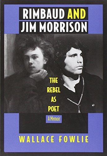9780822314455: Rimbaud and Jim Morrison-PB: The Rebel as Poet