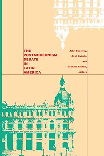 The Postmodernism Debate in Latin America (Paperback)