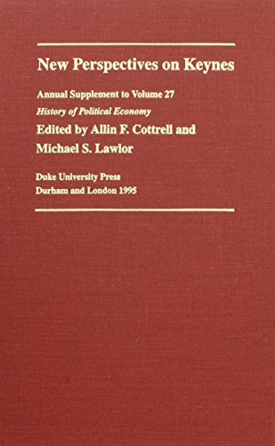 9780822317050: New Perspectives on Keynes (History of Political Economy Annual Supplement)