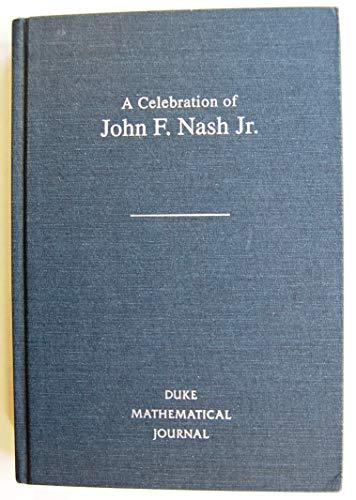 9780822317821: A Celebration of John F. Nash Jr. (Duke Mathematical Journal)