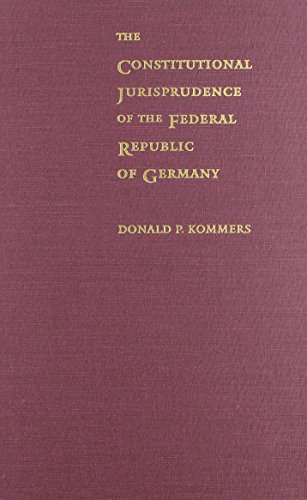 9780822318323: The Constitutional Jurisprudence of the Federal Republic of Germany, 2nd ed.
