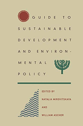 9780822327455: Guide to Sustainable Development and Environmental Policy