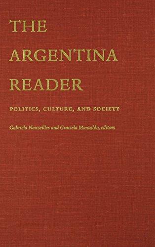 9780822328858: The Argentina Reader: History, Culture, Politics