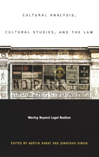 9780822331438: Cultural Analysis, Cultural Studies, and the Law: Moving Beyond Legal Realism