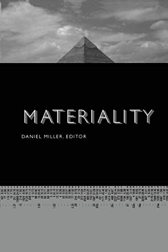9780822335429: Materiality (Politics, History, and Culture)