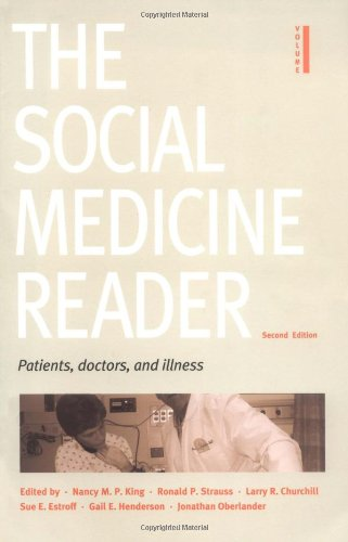 9780822335689: The Social Medicine Reader, Second Edition, Vol. One: Patients, Doctors, and Illness