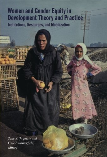 9780822336983: Women and Gender Equity in Development Theory and Practice: Institutions, Resources, and Mobilization