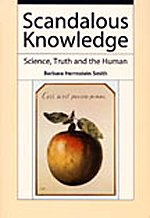 9780822338109: Scandalous Knowledge: Science, Truth, and the Human (Science and Cultural Theory)