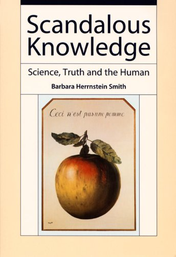 9780822338482: Scandalous Knowledge: Science, Truth, and the Human (Science and Cultural Theory)