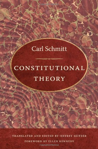 9780822340119: Constitutional Theory