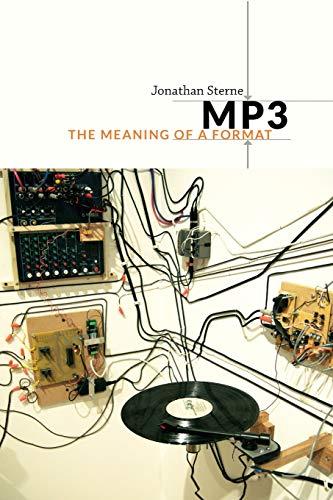 MP3: Sterne, Jonathan A. C.
