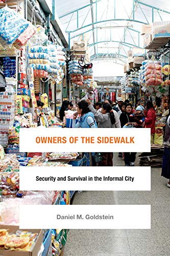 9780822360285: Owners of the Sidewalk: Security and Survival in the Informal City (Global Insecurities)