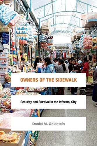 9780822360452: Owners of the Sidewalk: Security and Survival in the Informal City (Global Insecurities)